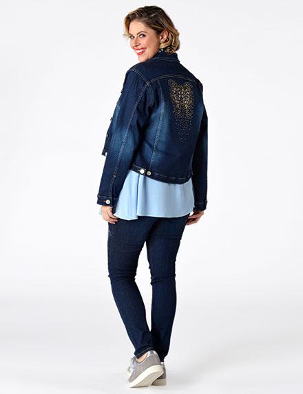 Jeans en denim trends voor grote maten
